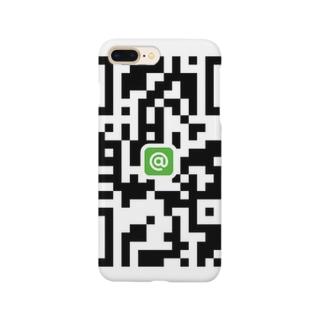 QRな世界 Smartphone cases