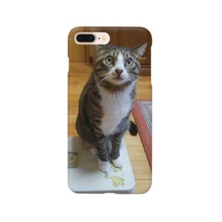 ネコの体重測定 Smartphone cases