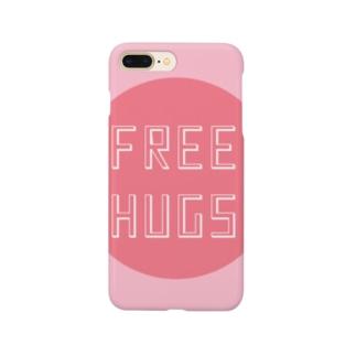 FREE HUGS(フリーハグ)【サークル】 Smartphone cases