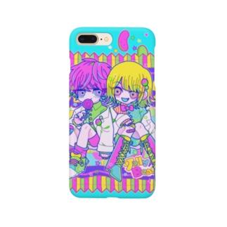 カラフルフレーバー💖💚💛 Smartphone cases