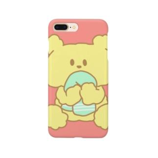 タオルくまちゃん Smartphone cases