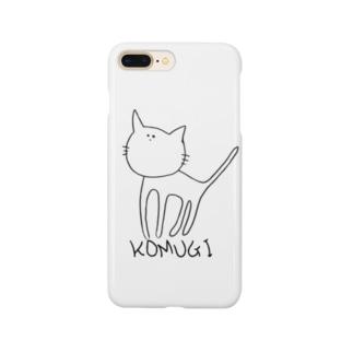 心紬ちゃん(こむぎ) Smartphone cases