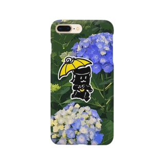 あじさいくろごちゃん Smartphone cases