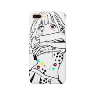 タピオカガール Smartphone cases