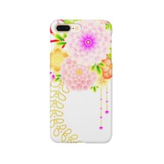 花かんざし01 Smartphone cases