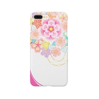 花かんざし02 Smartphone cases