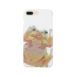 カエルのおなか Smartphone cases