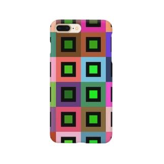 ランダムカラー Smartphone cases