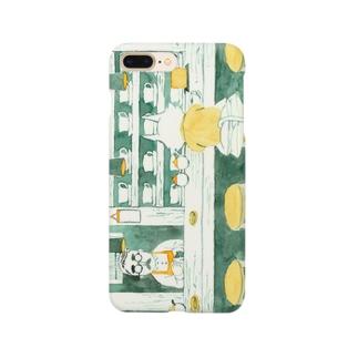 ひとねこ「喫茶ねこ」 Smartphone cases