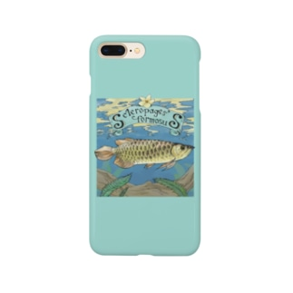 Scleropages formosus Smartphone cases