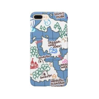 ぼうけんの地図 Smartphone cases