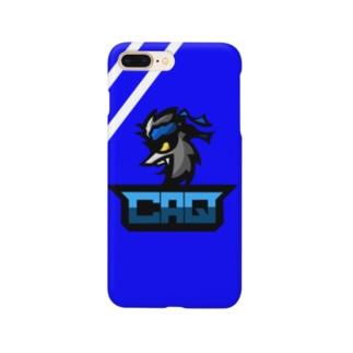 CAQロゴスマホケース Smartphone cases