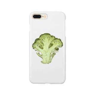 ブロッコリーの断面 Smartphone cases