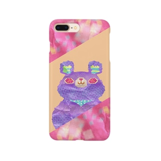 クラフトくま🐻の iPhoneケース Smartphone cases