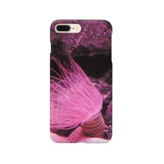 幻想的な海の生物 Smartphone cases