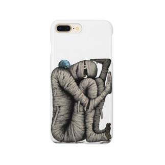 箱詰めミイラ Smartphone cases