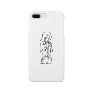 お着替え Smartphone cases