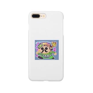縁起かつぎのラッキーダイコクちゃん Smartphone cases