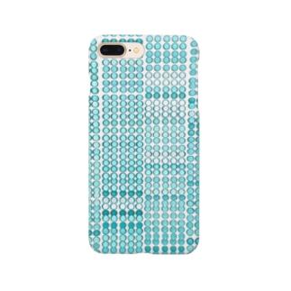 水玉ぼけ Smartphone cases