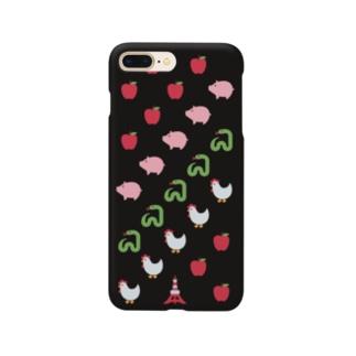 🍎 絵文字 鶏と蛇と豚 🗼 Smartphone cases
