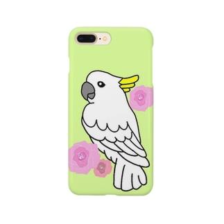 オウムくん Smartphone cases