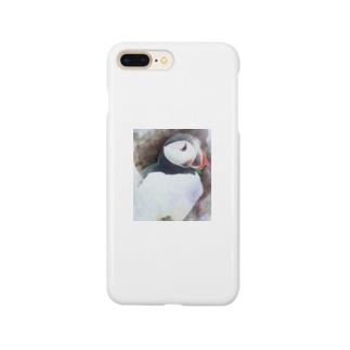 パフィン① Smartphone cases