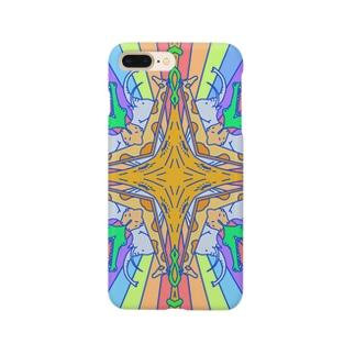 どうぶつがぱんぱかぱかぱーん Smartphone cases