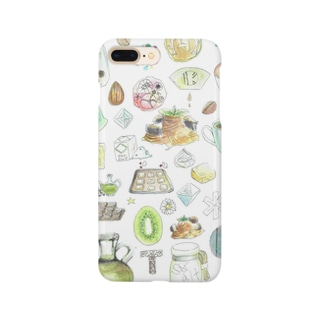 CAFE Kiitos feat.Mika Itoh Smartphone cases