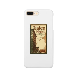 Advertisement, Gates Hotel, Los Angeles [cover] Smartphone cases