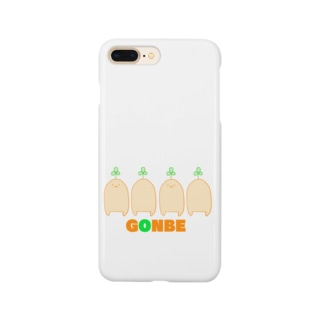 ごんべぇ Smartphone cases