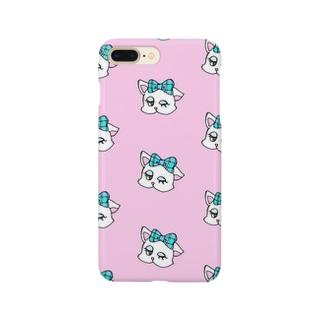 あまえんぼCat ーpinkー Smartphone cases