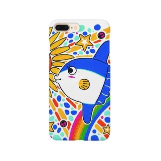 飛ぶマンボウ Smartphone cases