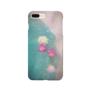薔薇の貝殻 Smartphone cases