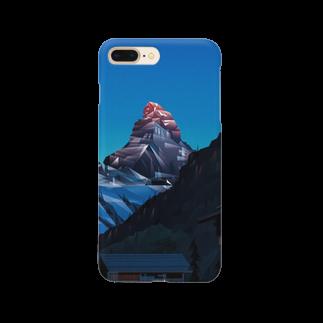荒木イオナのショップのマッターホルン Smartphone cases