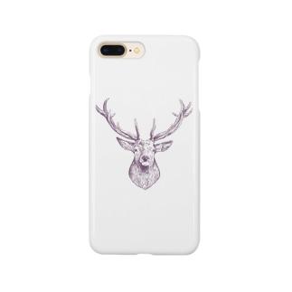 鹿さん Smartphone cases
