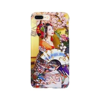 花魁あすてぃ3 Smartphone cases