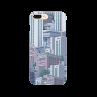 非ユークリッド幾何学を考えるの都市 Smartphone cases