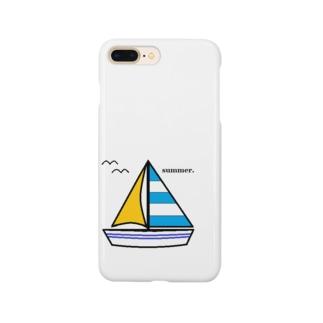 ヨット Smartphone cases