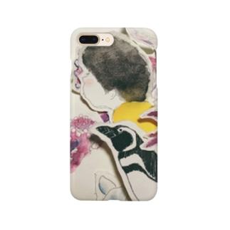 眠たいオトコのaquarium Smartphone cases