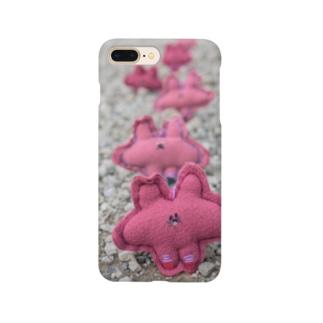 ふかふかひゅーっのよしよしくん Smartphone cases
