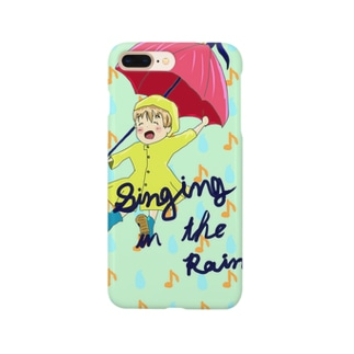 singing in the rain Smartphone cases