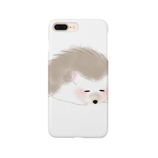 ハリネズミのティラミス Smartphone cases