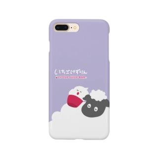 ひつじとけずりん Smartphone cases