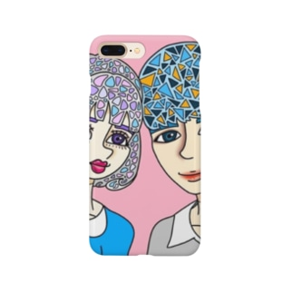 M&R (illustrated by B) Smartphone cases