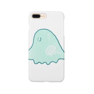 精神と物質(クラゲ) Smartphone cases