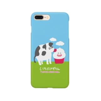 子牛とけずりん Smartphone cases