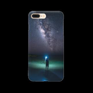 816photographyのライトペイントアート (stargazer) Smartphone cases