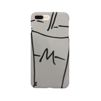 ハンバーガーショップのシェイクロゴ Smartphone cases