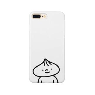 肉まんまん(胸より上) Smartphone cases