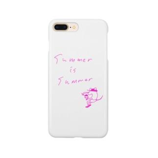サマーイズサマー Smartphone cases